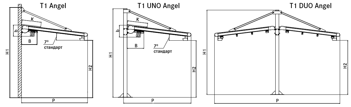 T1 ANGEL/UNO/DUO ANGEL